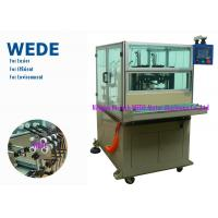 China Semi - Auto Stator Winding Machine 2 Stations In - Slot For Power Tool / Vacuum Cleaner / Dryer / Mixer on sale