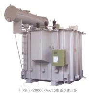 Single Phase Oil Immersed Electric Arc Furnace Transformer 63MVA , Low Noise Manufactures