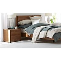 Quality Apartment Furniture Modern design Bedroom sets of Single Bed with Nightstand and for sale