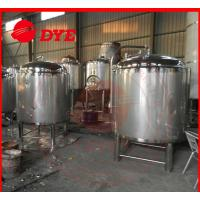 DYE Chemical Stainless Steel Hot Water Storage Tanks For Breweries Manufactures
