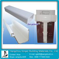 2015 Hotsale China Best Vinyl Rain Gutter System For Plastic rain water collector system Manufactures