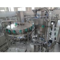 Auto Carbonated Drinks Filling Line PLC Control For Plastic Bottle Manufactures
