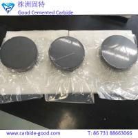 China Excellent quality nuclear grade boron carbide disc b4c ceramic round plate on sale