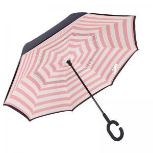 China 2017 New Custom Printing Design Sun Block Upside Down Folding Reverse Inverted Umbrella on sale