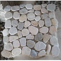 Oyster Mosaic Pattern Natural Stone Mosaic Floor Tiles Oyster Slate Mosaic Parquet Wall Tile Manufactures