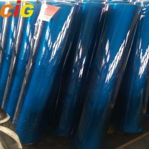 Blue / Green / Crystal PVC Transparent Film , Thickness 0.07mm - 3.0mm