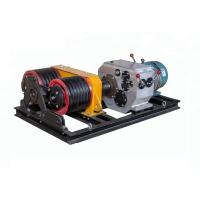 Double Capstan Mortor 5 Ton Winch 50KN Power Construction With Electric Engine Manufactures