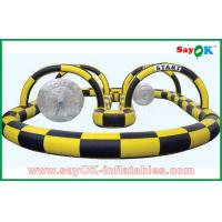 China Big Inflatable Sports Games Soccer Football Goal Gate Filed For Advertising on sale
