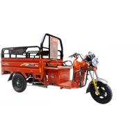 Adult cargo electric tricycle Three Wheel Motorcycle Chinese 3 Wheeler Orange Manufactures