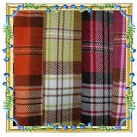 100% polyester plaid fabric Manufactures