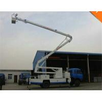 Mobile Aerial Work Platform Truck With 28M Height Insulating Carrier And Insulated Arm Manufactures