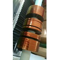 High Temperature Strong Double Sided Tape , Silicon ESD Polyimide Film Adhesive Tape Manufactures