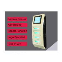 Cell Phone Wall Mounted Charging Station With Digital Lockers , Free Charge Manufactures