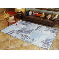 Custom Eco-friendly Printed Indoor Area Rugs For Living Room SGS for sale