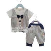 China Free sample baby clothes baby clothing set with cool pants on sale