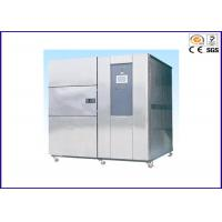 China 380V 50HZ Thermal Shock Test Chamber , Environmental Thermal Testing Equipment on sale