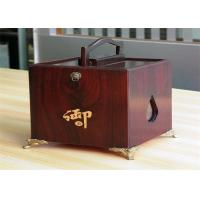 Girls lamination Tea / Exhibition / Jewelry Wood Boxes Packaging Rectangular Shaped Manufactures