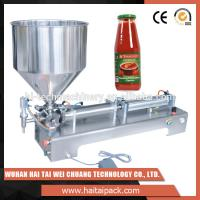Vegetable Oil Bottle Semi-Automatic Filling Machine Electric Driven Type Manufactures