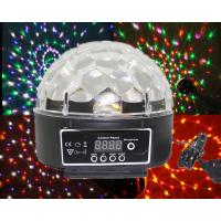 20W DMX Led Crystal Magic Ball Light Rgb Effect Disco Stage Light AC 110V - 250V Manufactures