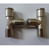 China Pneumatic Metal Push-in Fitting on sale