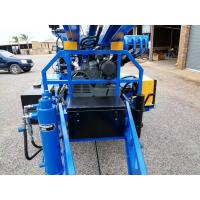 Buy cheap 89mm drilling hole diameter Water Well Drilling Rig Trailer mounted from wholesalers