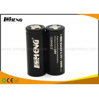 China 5000mah 60A LiFePO4 Batteries MENG 26650 3.7 Volt Rechargeable Battery on sale