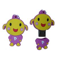 promotional gift cartoon sillicon USB disk 1GB 2GB 4GB 8GB 16GB 32GB  Manufactures