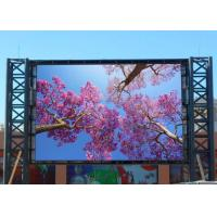 China Large Electronic Outdoor Led Billboard Advertising P10 Dynamic Digital on sale