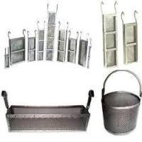China Rectangular Titanium Anode Basket on sale