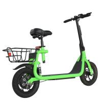 Electric Powerful Two Wheel Scooter Disc Brake With Seat And Basket For Adult Manufactures