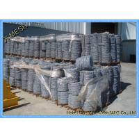 Buy cheap Border Security Protection Galvanized Barbed WireSteel ASTM Standards from wholesalers