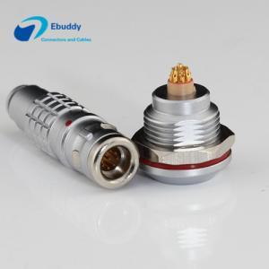 Lemo K Serials Waterproof Circular Connector IP68 0K / 1K / 2K 2 - 32pin Male And Female Connectors Manufactures