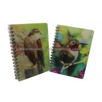 Custom A4/A5/A6 3D Lenticular Notebook For Children CMYK Offset Printing Manufactures