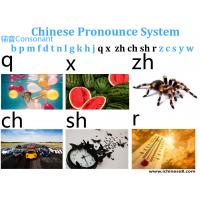 Quality Studying Chinese Language Lessons Online Pinyin Part3 For 6 Consonant for sale