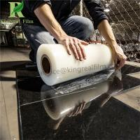 0.03mm-0.20mm Thickness Self Adhesive Protetcive Film for Marble Manufactures