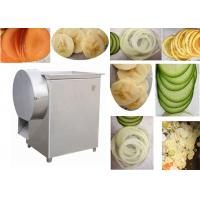 Vegetable Chips Cutting Machine 100-300kg/h 300-500 kg/h Automatci Slicer
