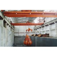 QZ Travelling Overhead Crane With Clamshell Grab Bucket For Bulk Material Handling Manufactures