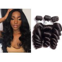 Queenlife 100% Virgin Loose Wave Hair Weave 18 Inch Not Mix Much Short Hair Manufactures