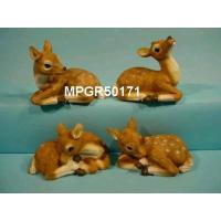 Polyresin Garden Laying Fawn Manufactures