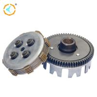 Centrifugal Clutch Assembly / Aftermarket Motorcycle Clutch Kits For 110cc Manufactures