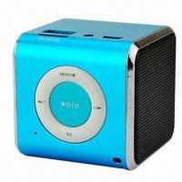 Mini MP3 Player Speaker, FM/TF/USB/3.5mm Audio Manufactures