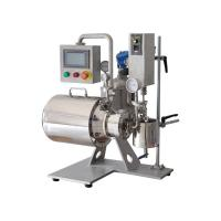 0.3L Silver Horizontal Bead Mill Machine Stainless Steel  Wear Resistance Manufactures