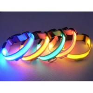 2012 Latest Double Row LED Flashing Dog Collar Manufactures