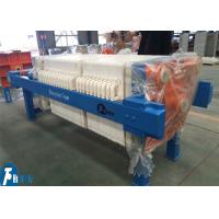 Quality Hydraulic Compress Industrial Filter Press Washable Plate Type With 20m2 for sale