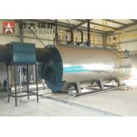 China Automatic 10tons 10tph Industrial WNS Gas Oil Fire Tube Steam Boiler on sale