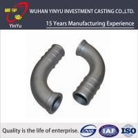 Lost Wax Investment Casting Small Parts , Cast Pipe Fittings Low Tolerance Manufactures
