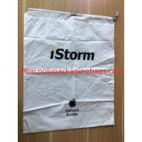 Simple and elegant white cpe rope bag for general purpose packaging Manufactures