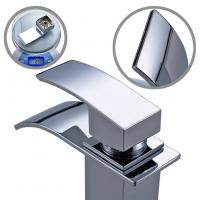 Zinc Alloy Handle Easy Install Trough Style Bathroom Faucet Polished Surface Treatment Manufactures
