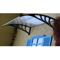China Waterproof Polycarbonate Patio Canopy , PC Door Canopy Awning Ain Shelter on sale