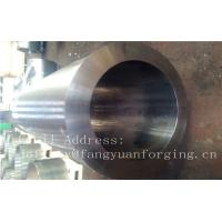 F316H S31609 Stainless Steel Forging Forged Cylinder  Seamless Pipe  Flange Manufactures